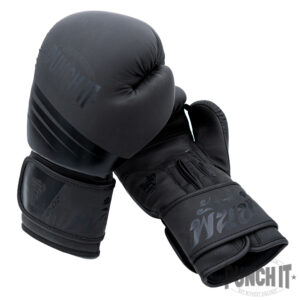 Muay Thai Gloves black Thaiboxinggloves